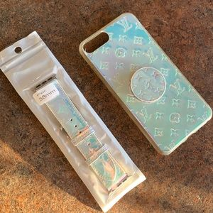 Matching iPhone 7/8plus case and 38mm watch band